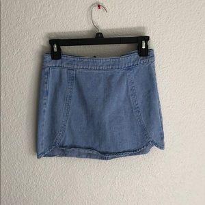 Size 24 mini skirt